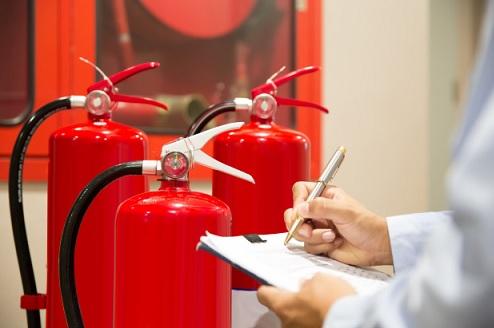 בדיקת מערכות כיבוי אש